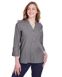 Devon & Jones Ladies' Crown Collection™ Stretch Pinpoint Cha