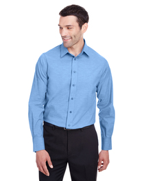 Devon & Jones Men's Crown  Collection™ Stretch Pinpoint Cham