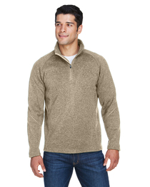 Devon & Jones Adult Bristol Sweater Fleece Quarter-Zip