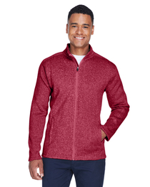 Devon & Jones Men's Bristol Full-Zip Sweater Fleece Jacket