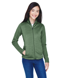 Devon & Jones Ladies' Newbury Fleece Full-Zip
