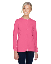 Devon & Jones Ladies' Perfect Fit™ Ribbon Cardigan
