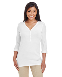 Devon & Jones Ladies' Perfect Fit™ Sleeve Knit Top