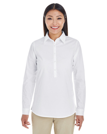 Devon & Jones Ladies' Perfect Fit™ Half-Placket Tunic Top