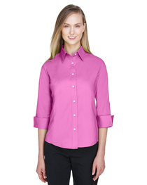 Devon & Jones Ladies' Perfect Fit™ 3/4-Sleeve Stretch Poplin