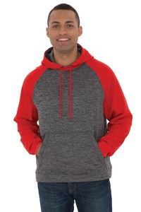 ATC™ Dynamic Heather Fleece Two Tone Hooded Sweatshirt