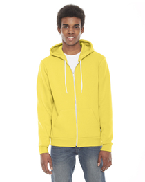 American Apparel Unisex Flex Fleece Zip Hoodie