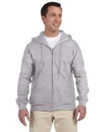 Gildan DryBlend® Adult  15 oz./lin. yd., 50/50 Full-Zip Hood
