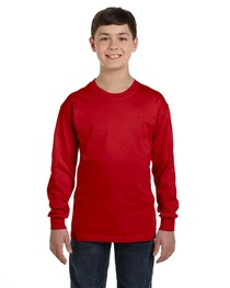 Gildan Youth Heavy Cotton™ Long-Sleeve T-Shirt