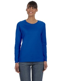 Gildan Ladies'   Heavy Cotton™ 5.3 oz. Long-Sleeve T-Shirt