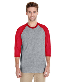 Gildan Adult  Heavy Cotton™ 5.3 oz. 3/4-Raglan Sleeve T-Shir