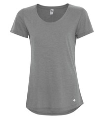 Koi® Triblend Scoop Neck Relaxed Ladies' Tee