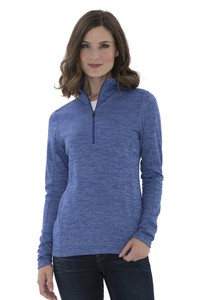 ATC™ Dynamic Heather Fleece 1/2 Zip Ladies' Sweatshirt