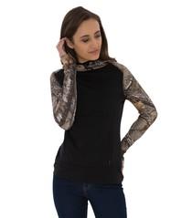 ATC™ Realtree® Tech Fleece 2 Tone Hooded Ladies' Sweatshirt