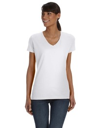 Fruit of the Loom Ladies' 8.3 oz./lin. yd. HD Cotton™ V-Neck