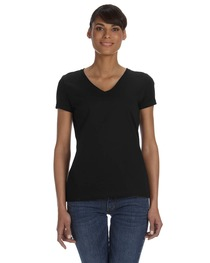Fruit of the Loom Ladies' 5 oz. HD Cotton™ V-Neck T-Shirt