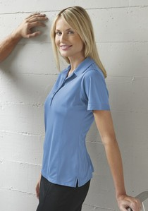 Coal Harbour® Snag Resist Contrast Stch Ladies' Sport Shirt