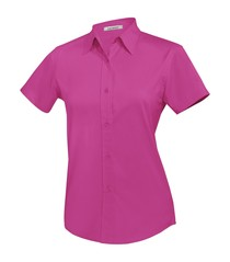 Coal Harbour® Easy Care Short Sleeve Ladies' Woven Shirt