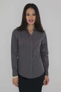 Coal Harbour® Textured Woven Ladies' Shirt