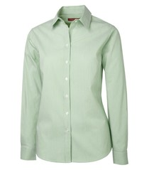 Coal Harbour® Mini Stripe Woven Ladies' Shirt