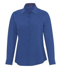 Coal Harbour® Everyday Long Sleeve Woven Ladies' Shirt
