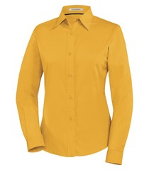 Coal Harbour® Easy Care Long Sleeve Woven Ladies' Shirt