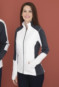 Coal Harbour® Everyday Fleece Colour Block Ladies' Jacket