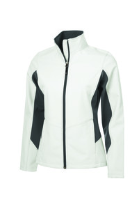 Coal Harbour® Everyday Col Block Soft Shell Ladies' Jacket