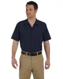 Dickies Men's 4.25 oz. Industrial Short-Sleeve Work Shirt