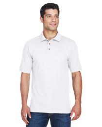 Harriton Men's 6 oz. Cotton Piqué Short-Sleeve Polo