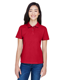 Harriton Ladies' 6 oz. Cotton Piqué Short-Sleeve Polo