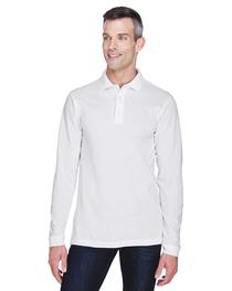 Harriton Men's 5.6 oz. Easy Blend™ Long-Sleeve Polo