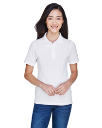 Harriton Ladies' 5.6 oz. Easy Blend™ Polo