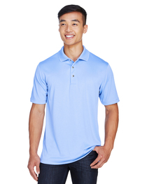 Harriton Men's Advantage Plus IL Snap Placket Polo