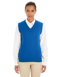 Harriton Ladies' Pilbloc™ V-Neck Sweater Vest