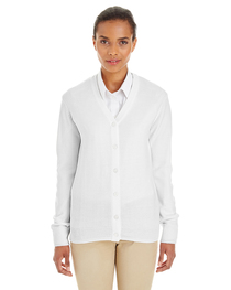 Harriton Ladies' Pilbloc™ V-Neck Button Cardigan Sweater