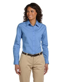 Harriton Ladies' 3.1 oz. Essential Poplin