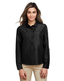 Harriton Ladies' Key West Long-Sleeve Staff Shirt
