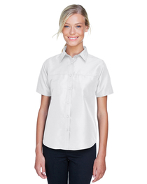 Harriton Ladies' Key West Short-Sleeve Staff Shirt