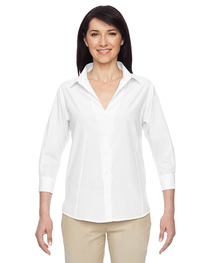 Harriton Ladies' Paradise 3/4-Sleeve Performance Shirt