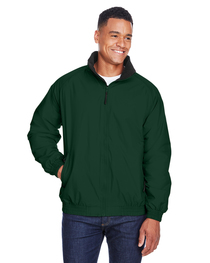 Harriton Adult Fleece-Lined Nylon Jacket