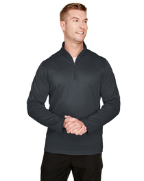 Harriton Men's Advantage Snag Protection Plus IL Quarter-Zip