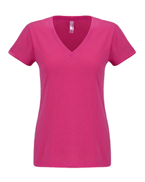 Next Level Ladies' Sueded V-Neck T-Shirt