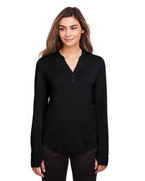 North End Ladies' Jaq Snap-Up Stretch Performance Pullover