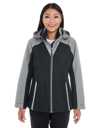 North End Ladies' Shell  Reflective Printed Panels