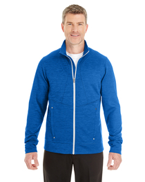 North End Men's Amplify Mélange Fleece Jacket