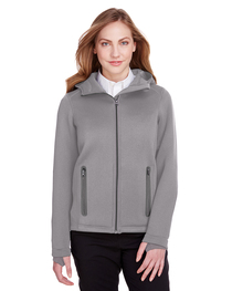 North End Ladies' Paramount Bonded Knit Jacket