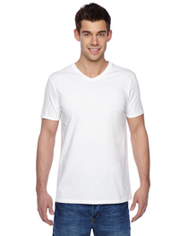 Fruit of the Loom Adult 7.8 oz./lin. yd. Sofspun® V-Neck T-S