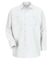 Red Kap® Industrial Long Sleeve Work Shirt