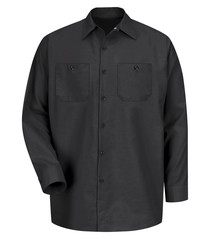 Red Kap® Industrial Long Sleeve Work Shirt